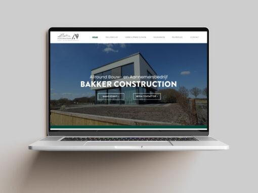 Bakker Construction, Website